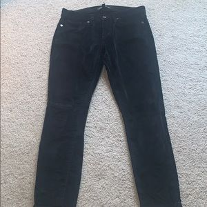 Velvet pants by Banana Republic